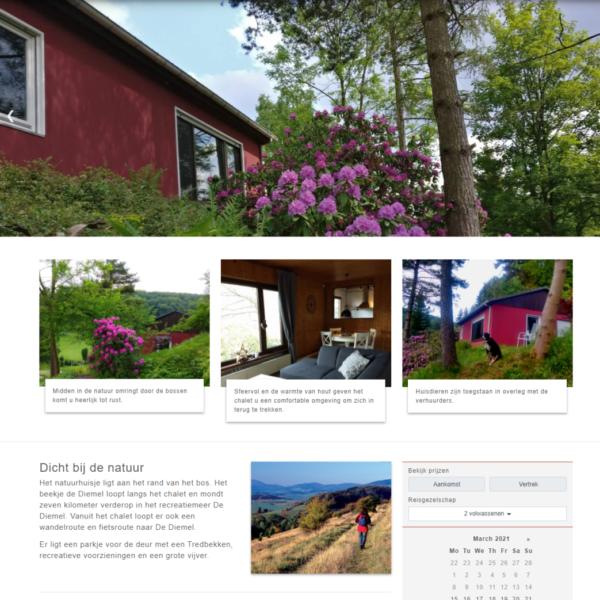 Diemelchalet homepage